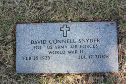 David Connell Snyder