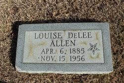 Louise <i>DeLee</i> Allen