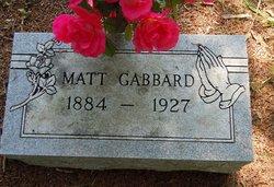 Matt E Gabbard