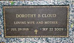 Dorothy <i>Hicks</i> Cloud