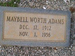 Maybelle <i>Worth</i> Adams