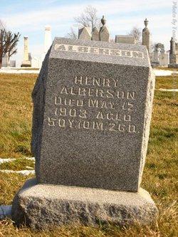 Henry Alberson