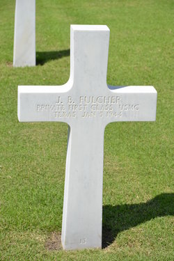PFC J B Fulcher