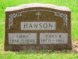 Emma <i>Amundson</i> Hanson