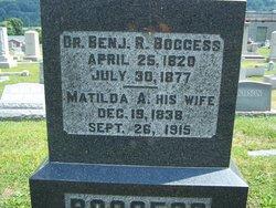 Matilida A <i>Shinn</i> Boggess