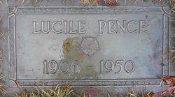 Lucile <i>Jones</i> Pence