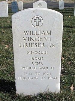 William Vincent Grieser, JR