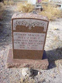 Pvt Herman Aragon, Jr