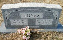W Bevlia Jones