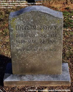 Eddie M. Brown
