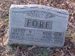 Minnie M. <i>Sepp</i> Fore