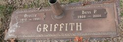 Bess P. <i>Pennington</i> Griffith