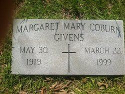 Margaret Mary <i>Coburn</i> Givens