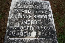 Corinne <i>Sprott</i> Moore
