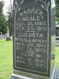 Augusta <i>McNall</i> Kingsley