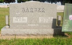 Esther Henrietta <i>Goers</i> Barber
