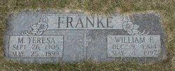 Dr William F. Franke