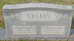 Lois <i>Kinnaird</i> Grubbs