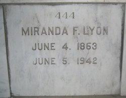 Miranda Frye <i>Adams</i> Lyon