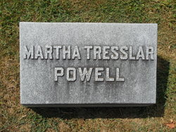 Martha <i>Tresslar</i> Bice Powell