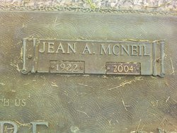 Jean A <i>McNeil</i> Skidmore