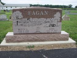 Betty L. <i>Taylor</i> Fagan