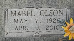 Mabel <i>Olson</i> Bard