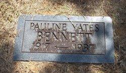 Pauline Elizabeth <i>Yates</i> Bennett