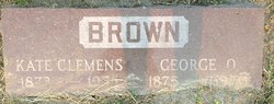 Kate <i>Clemens</i> Brown