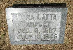Lena <i>Latta</i> Tarpley