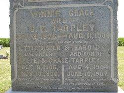 Infant Daughter Little Sister Tarpley
