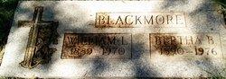 Bertha M Blackmore
