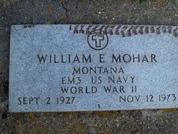 William Eugene Billy Mohar