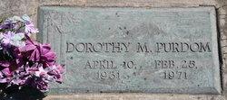 Dorothy M. <i>Lewis</i> Purdom