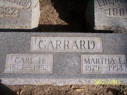 Martha E <i>Hart</i> Garrard