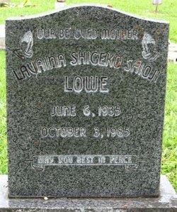 Lavaina Shigeko <i>Shoji</i> Lowe