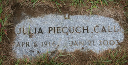 Julia M <i>Piecuch</i> Call