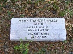 Mary Frances <i>Walsh</i> Ambrose
