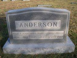 Mary Frances <i>Hummer</i> Anderson