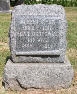 Ada E <i>Borthwick</i> Fox