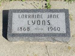 Lorraine Jane Lyons