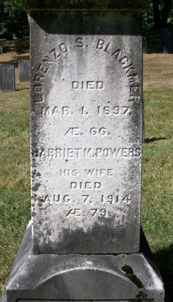 Harriet M <i>Powers</i> Blackmer