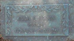 Ella A Allen
