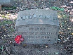Jennie Mary <i>Spencer</i> Kappell