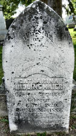 Catherina <i>Buehler</i> Bidlingmaier