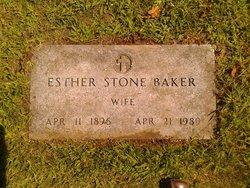 Esther Harding <i>Stone</i> Baker