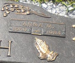 Anna Marie <i>Martin</i> Bush