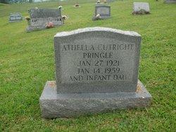 Athella May <i>Cutright</i> Pringle