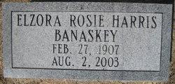 Elzora Rosie <i>Harris</i> Banaskey