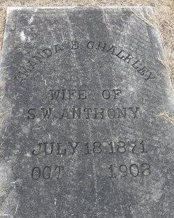 Amanda Elizabeth <i>Chalkley</i> Anthony